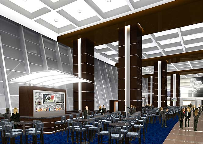 Capacity will be listed at 80,000, with some of those fans able to watch the game from the first-class dining facility.
