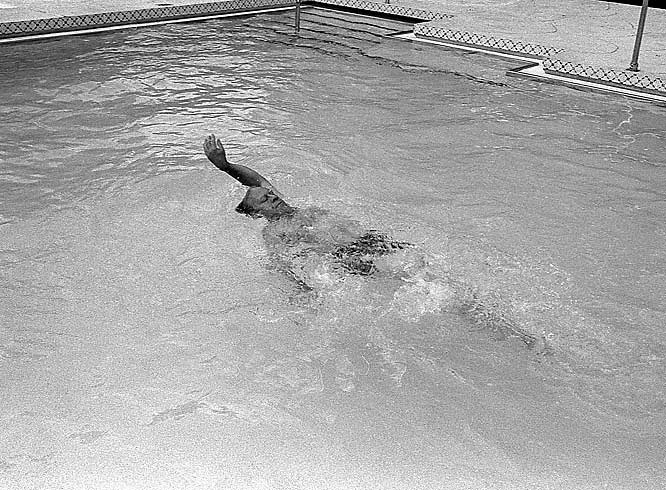 To keep in shape, Ford often swam in the White House pool.