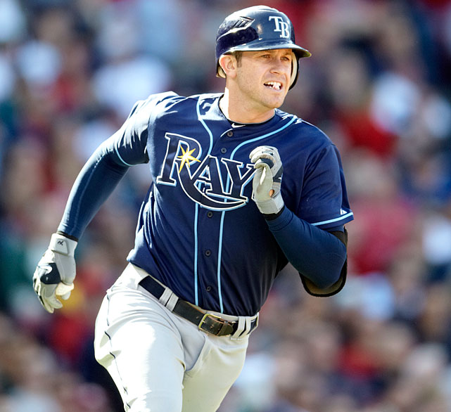 Tampa Bay Rays third baseman Evan Longoria agreed to a new contract through 2022 that adds six guaranteed seasons and $100 million. The agreement announced Monday Nov. 26, 2012, with the three-time All-Star incorporates the remainder of the 27-year-old's existing contract, which called for him to earn $36.6 million over the next four seasons. The new deal includes a team option for 2023.