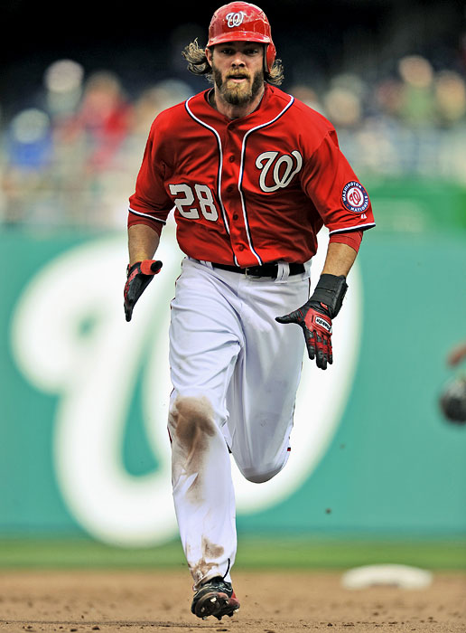 The Nationals raised more than a few eyebrows when they opened the vault for this 31-year-old right fielder after the 2010 season. Over his first eight major league seasons, Werth batted .272 with 120 home runs but had yet to drive in 100 runs in a season and had appeared in just one All-Star Game.