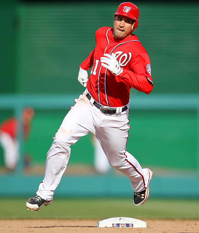 The Nationals extended the third baseman's contract through 2019, adding six years and $100 million, according to The Associated Press. He already was signed for 2012 and 2013 for $26 million. Zimmerman, 27, was the Nationals' first draft pick after moving to Washington and owns a career .289 average with 128 home runs.