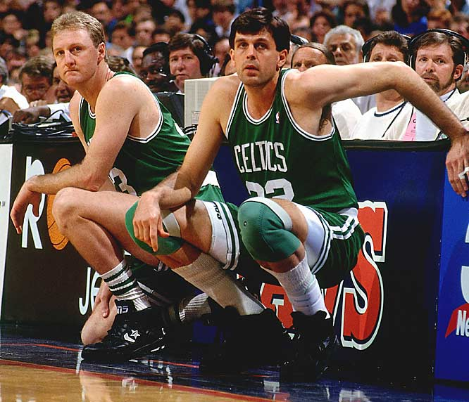 Larry Bird (28.1 points per game) ... 4th in league<br>Kevin McHale (26.1 ppg) ... 6th in league