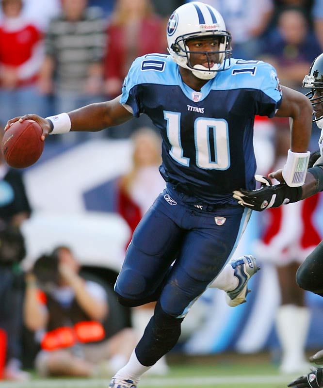 Last Week: 1 <br><br>After sitting out the end of Friday's practice with an ice pack on his right elbow, Young only completed eight of 15 passes against Jacksonville and ran only four times for four yards. Still, his Titans have won their fifth in a row, which has to count for something.