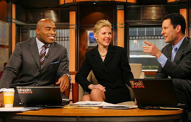 Tiki Barber has made no secret of his desire to pursue a career in broadcasting. He co-host Fox and Friends morning news show once a week and has gained television experience throughout his career.