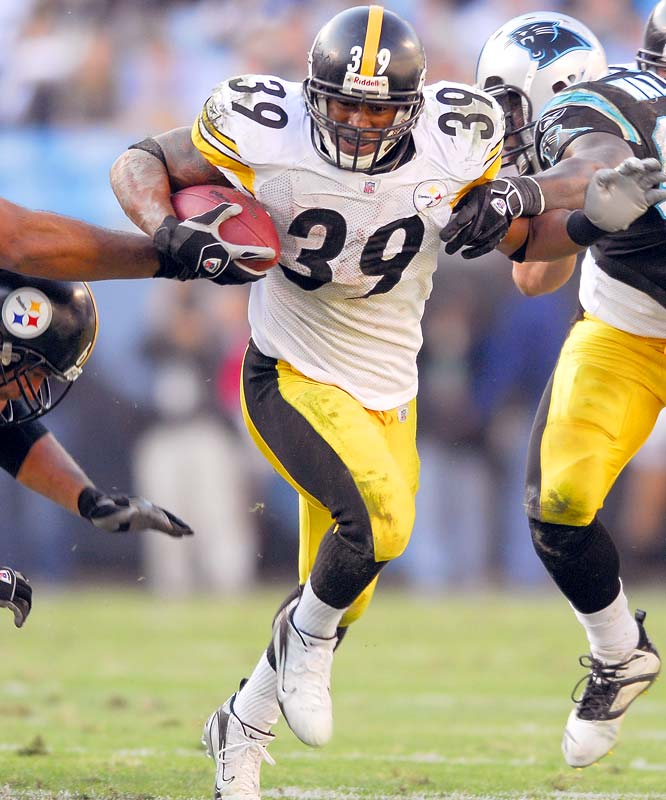 Willie Parker ran for 132 yards and a touchdown as Pittsburgh kept some hope alive of still making the playoffs while virtually eliminating any chances for Carolina.