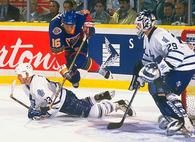 The Golden Brett and the Great One carried the Blues to a first-round win over Toronto before the club squandered a three-games-to-two lead over Detroit in the second round.