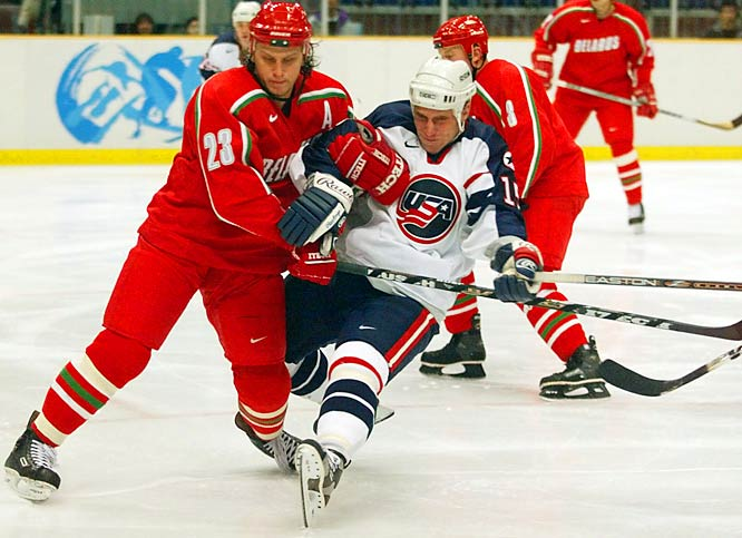 With NHL players participating in the Winter Olympics, Hull joined Team USA for the Games in Nagano, Japan. The outcome was a downer as the gold-medal favorites went home empty-handed, eliminated by Dominik Hasek and the Czech Republic.