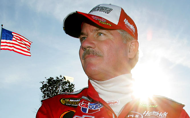 The 1984 and 1996 NASCAR points champion scaled back his schedule two years ago and finally made the last start of his 29-year career in November in his native Texas. The Ice Man -- or Texas Terry -- as he was called, made 848 starts and won 22 races.