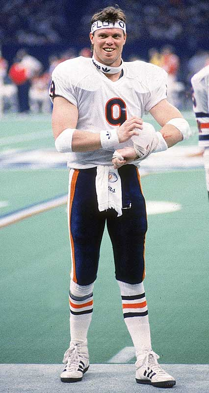 After being fined $5,000 by then-NFL commissioner Pete Rozelle for wearing an unapproved Adidas logo during a 1985 playoff game, Bears quarterback Jim McMahon slipped on a headband with Rozelle's name on it the following week, drawing yet another fine. He sported several others before the year was over.