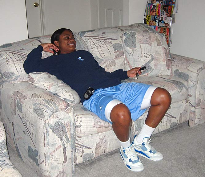 Welcome to the crib of UNC senior guard Ivory Latta, one of the nation