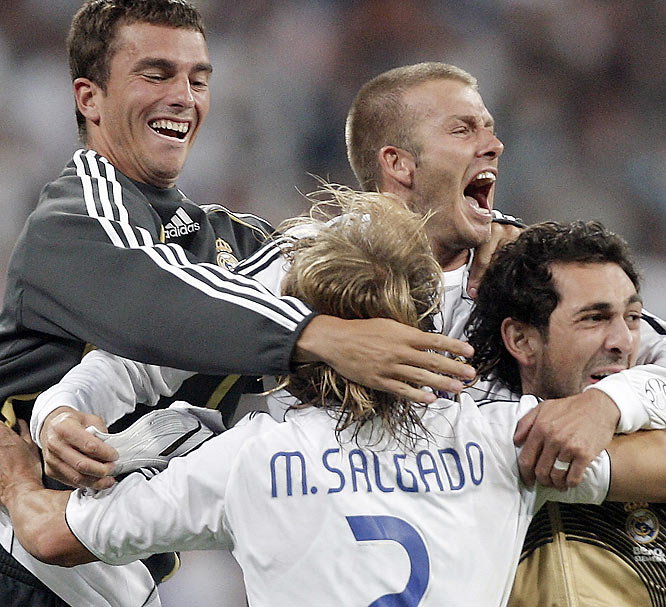 After being dropped from the Real Madrid starting lineup last winter, under-pressure coach Fabio Capello summoned the superstar yet again in May and Beckham was instrumental in guiding Real to its first Spanish league title in four years in June.