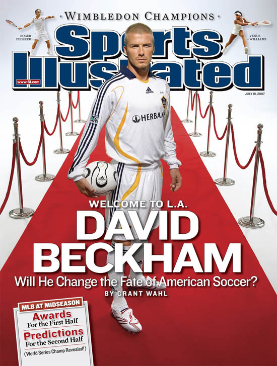 "With ""nothing more to prove"" in Europe, Beckham faces his steepest climb yet: bringing soccer into the mainstream in the U.S. Will he be successful in the great American frontier? Stay tuned."