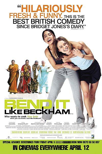 Beckham's fame rose in the U.S. when the movie Bend It Like Beckham became a hit. Ironically, Beckham had little involvement in the movie, which was about a young girl's desire to play soccer against her family's wishes.
