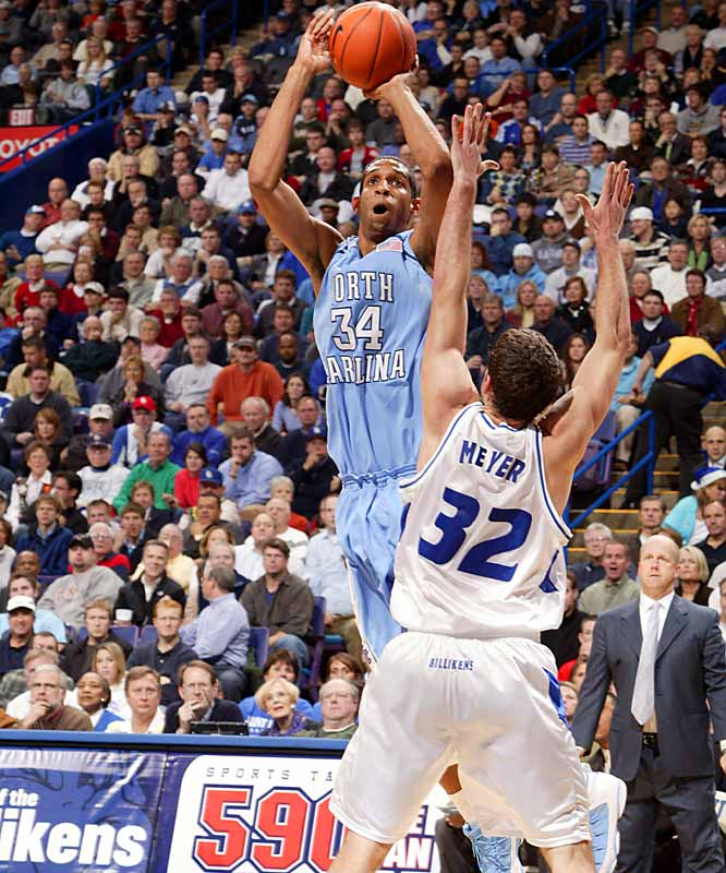 15.7 ppg, 6.5 rpg, 65.0 FGs%<br><br> On a team oozing with NBA talent, Wright has solidified himself as the top pro prospect -- and could be the third pick in the 2007 Draft if he chooses to leave after this season. He shows up for big games, like Wednesday's road blowout of Clemson in which he had 17 points on 8-of-10 shooting.