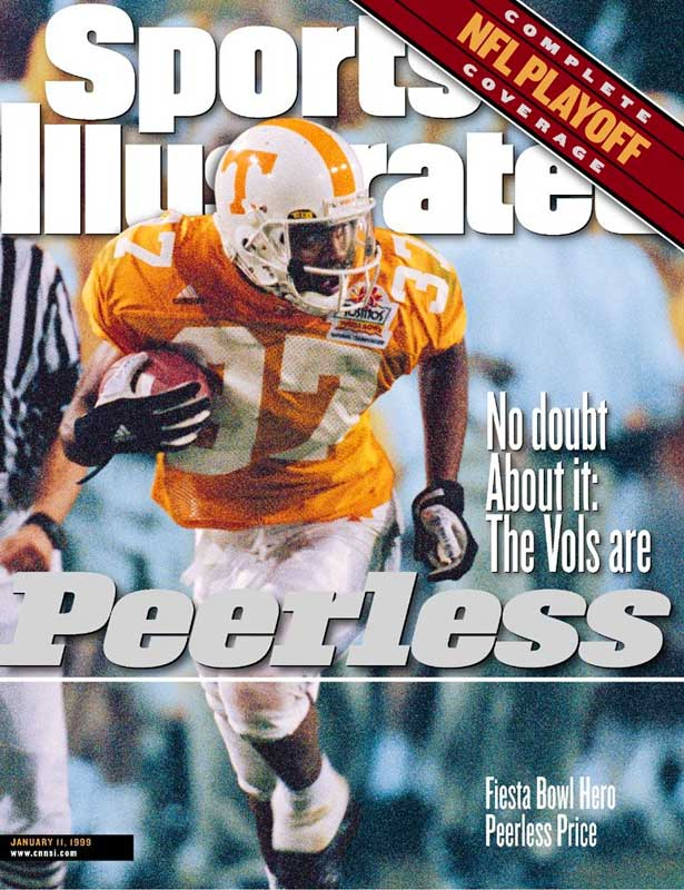 Star receiver Peerless Price set a Tennessee bowl record with 199 receiving yards, including a 79-yard touchdown. Steve Johnson picked off a pass late in the fourth quarter to secure the win.