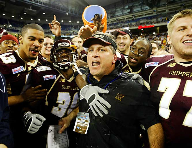 Just three weeks after losing head coach Brian Kelly to Cincinnati, Central Michigan earned its 10th win of the year.