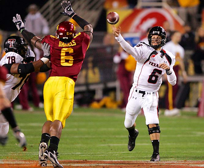 The Red Raiders made the greatest comeback in bowl history, overcoming a 31-point, third-quarter deficit. Two days later, Minnesota fired coach Ron Mason.