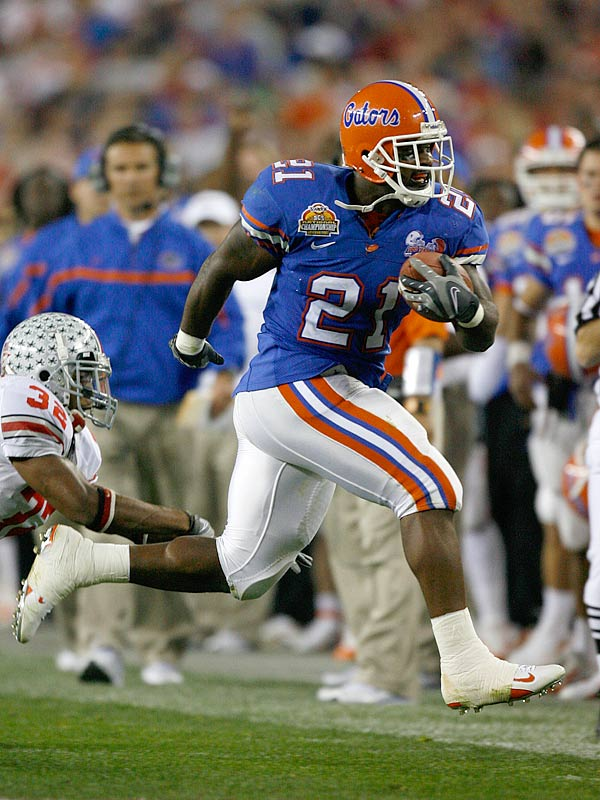 DeShawn Wynn, the Gators' lone player from Ohio, led Florida with 69 yards on the ground and scored one touchdown.