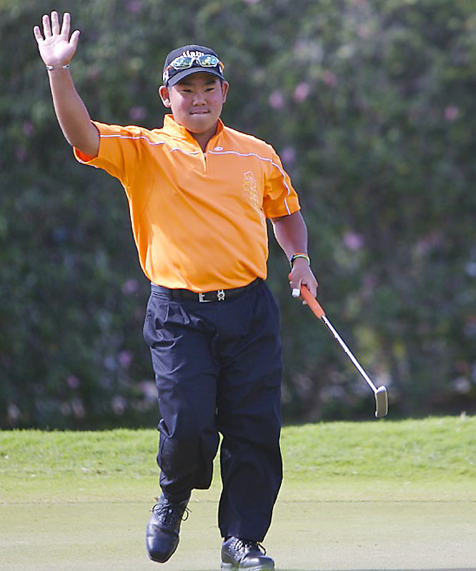 """As he kept moving up the leaderboard, Fujikawa heard the cheers from the gallery: """"Tadd is Rad!"""""""