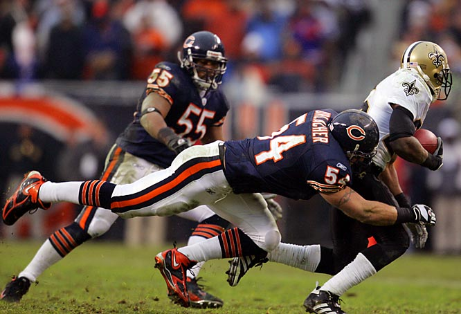 Urlacher is the face of the Bears' defense and if that unit carries Chicago to a championship, the star linebacker is a strong candidate to win the game MVP.