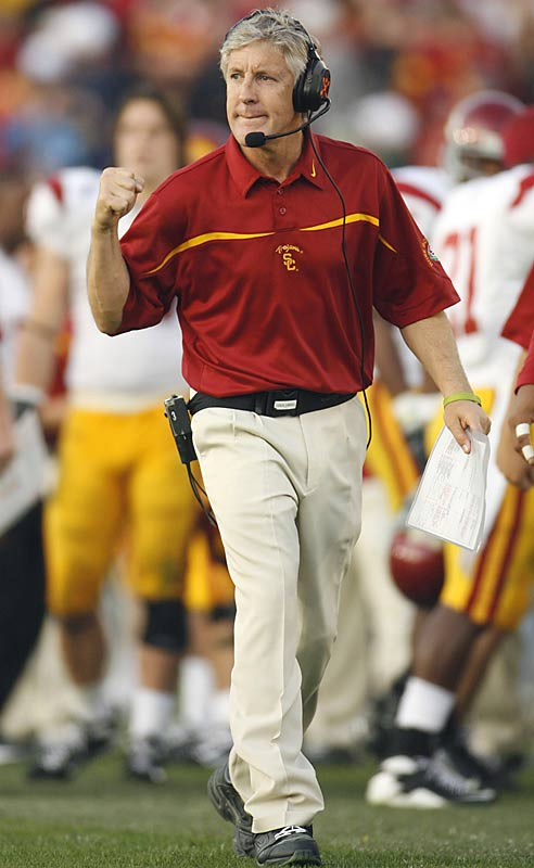 The USC coach hasn't nibbled at any other team's overtures, but this is Dallas, so maybe Jerry Jones has a chance to lure Carroll back to the NFL.