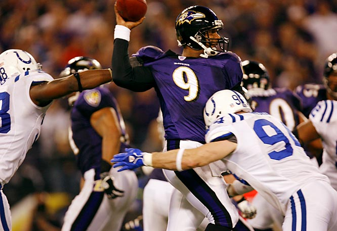 Steve McNair threw two interceptions and lost a fumble to a stingyIndianapolis defense.