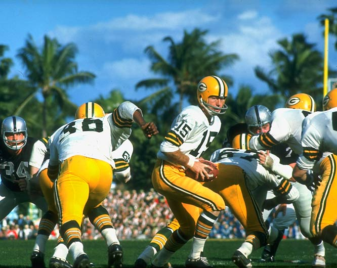 "This Super Bowl may have been an afterthought for Green Bay, following its ""Ice Bowl"" clash with Dallas. But sparked by MVP QB Bart Starr and Herb Adderley's 60-yard interception TD return, the Pack gave coach Vince Lombardi the ultimate parting gift: a second Super Bowl trophy and a fifth title in nine seasons."