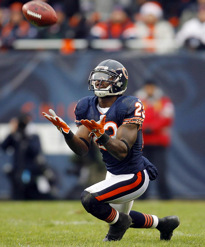 Having already secured a trip to the Pro Bowl, the former Miami Hurricane must overcome a case of the dropsies to be the X-factor as the Bears try to claw their way to Super Bowl XLI in Miami. Hester mishandled a couple of kicks last weekend and had a 63-yard return for a touchdown negated by a penalty.