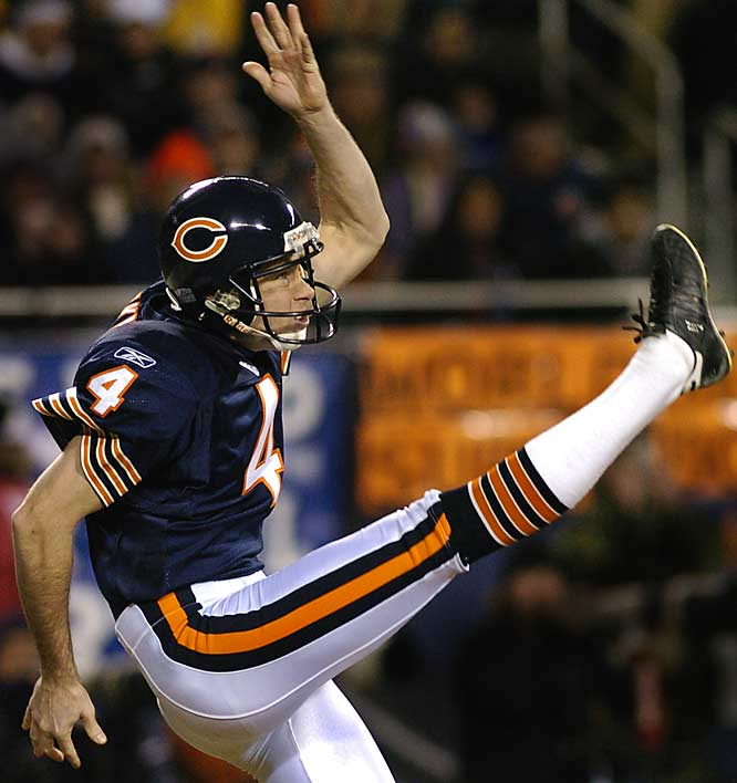 7... Bears punter Brad Maynard needs seven punts to become the most prolific punter in Super Bowl history. Maynard set an NFL record with 11 punts for the Giants in Super Bowl XXXV against the Ravens. Mike Horan of the Broncos and Rams and Mike Eischeid of the Raiders and Dolphins share the NFL career punting record with 17.