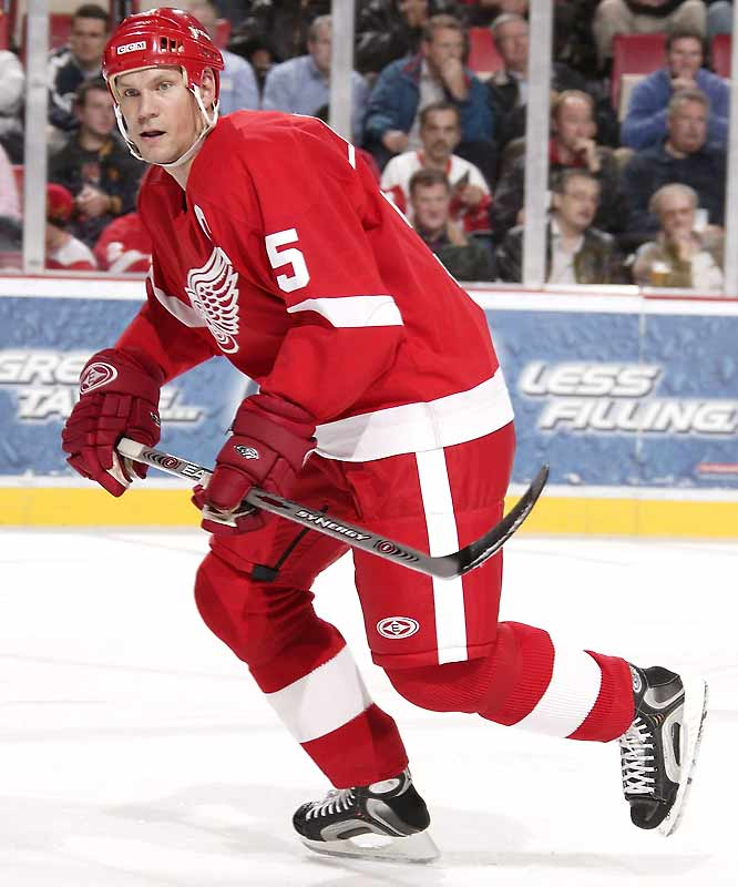 The four-time Norris Trophy-winner and bulwark of Detroit's blueline has earned his seventh consecutive start.
