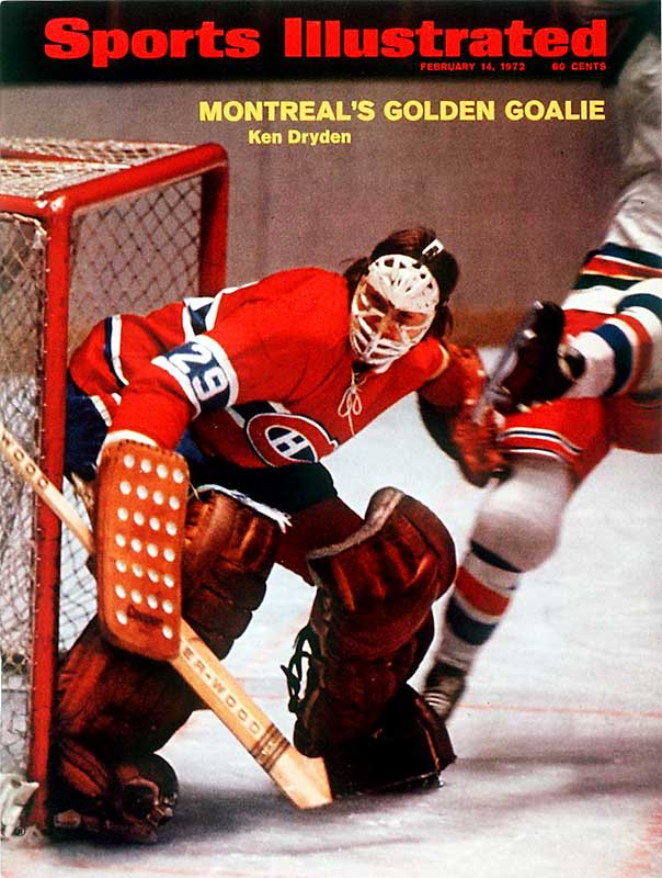 Still technically a rookie, Dryden nailed down the starting job in 1971-72, posting a 39-8-15 mark with a 2.24 GAA while becoming the first netminder in NHL history to win the Calder Trophy after winning the Conn Smythe and the Stanley Cup.