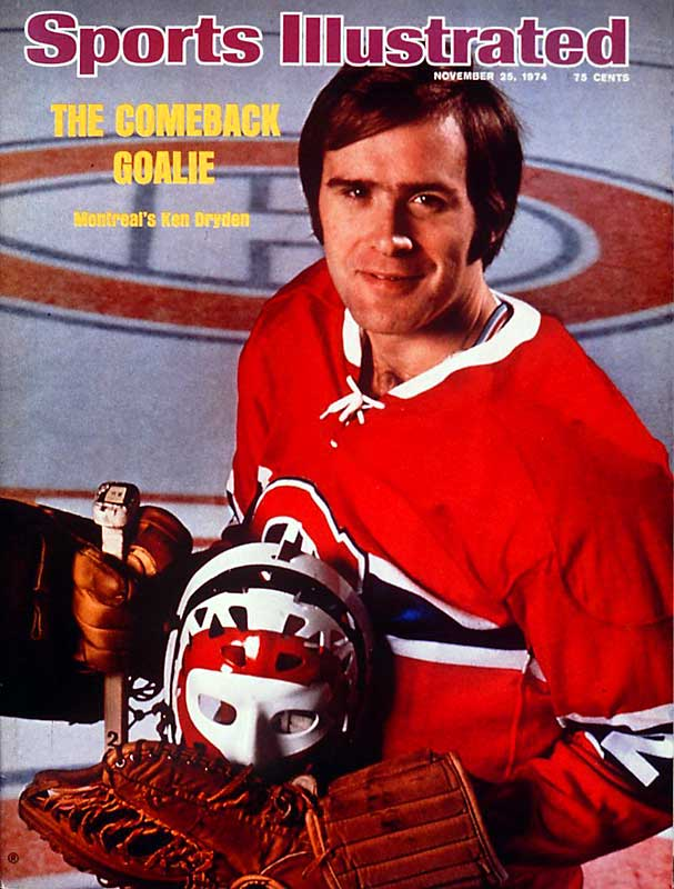 With Montreal coming off a first-round playoff exit in 1974 and in dire need of dependable goaltending, Dryden was coaxed out of retirement and he barely missed a beat in 1974-75 -- winning 30 games and another 11 in the playoffs before the Habs fell one round shy of the finals.