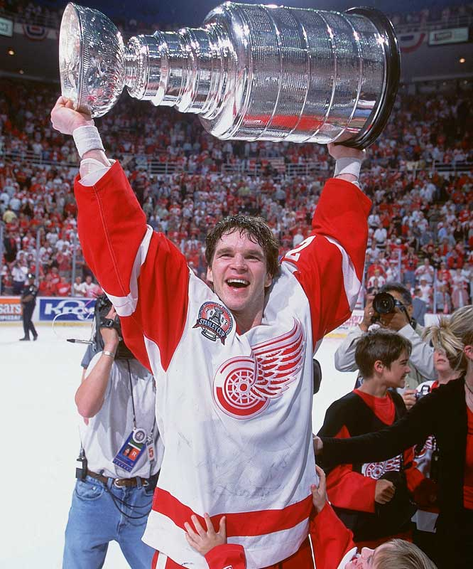 After signing with the star-studded Detroit Red Wings as a free agent in 2001, Luc finally got what he hoped for.