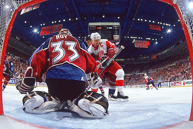 A still-rising power, the Red Wings stormed through the 1997 playoffs, beating bitter rival Colorado in seven games in the Western Conference finals. Yzerman scored 20 points in 18 postseason games.
