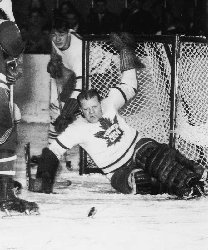 The hefty netminder was one of the most popular Maple Leafs. He won two Vezina Trophies and excelled in big games, winning five Stanley Cups and posting a career 1.98 goals-against average in 101 postseason contests.