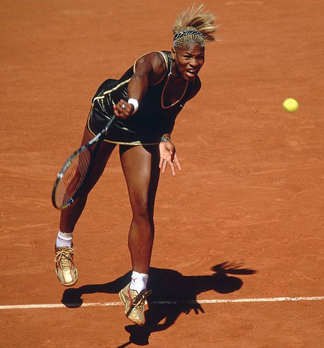 Facing her older sister Venus in a Grand Slam singles final for just the second time in her career, Serena avenged a 6-2, 6-4 loss in the 2001 U.S. Open. The sloppy championship match in Paris featured a combined 101 unforced errors.