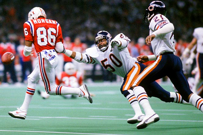 Singletary was the leader of one of the most impressive defenses in NFL history, the 1985 Bears. The always-intense middle linebacker recovered two fumbles in Chicago's 46-10 win over New England in Super Bowl XX.