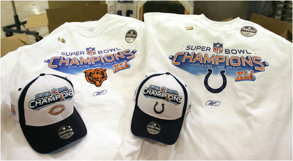 One set of these hats and T-shirts will be collector's items.
