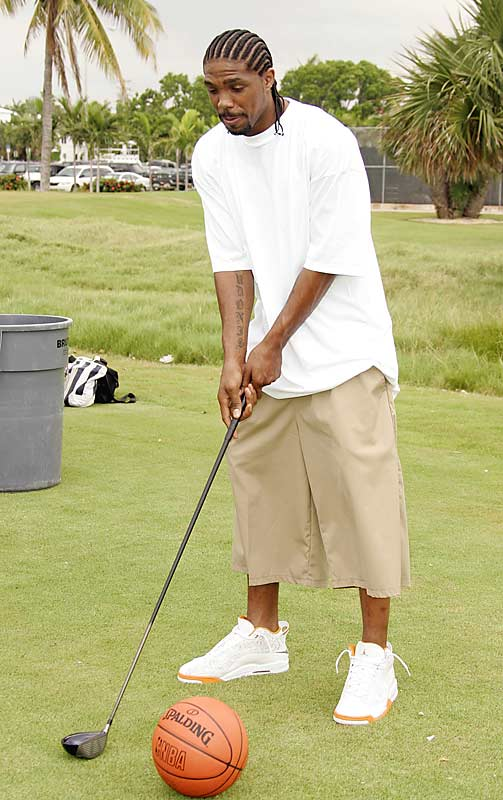 If Udonis needs a ball that big, perhaps he should try and pick up another leisure sport besides golf.