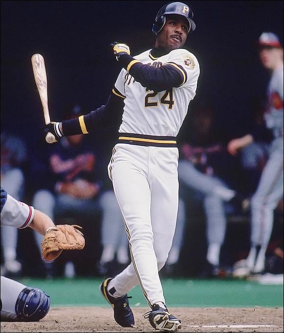 Bonds claimed his first MVP award as a five-tool threat, hitting 33 homers, stealing 52 bases, batting .301 and winning the first of his eight Gold Gloves in left field.