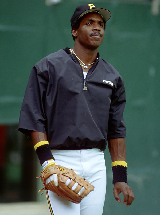 In his second full season, Bonds hit 25 home runs and 59 RBIs, to go along with 32 stolen bases.