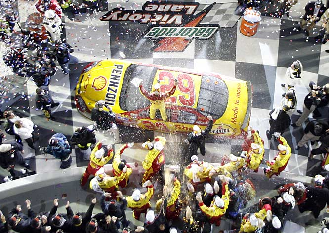 Kevin Harvick won after starting 34th in the field of 43, the worst starting spot ever for a winner of the Daytona 500.