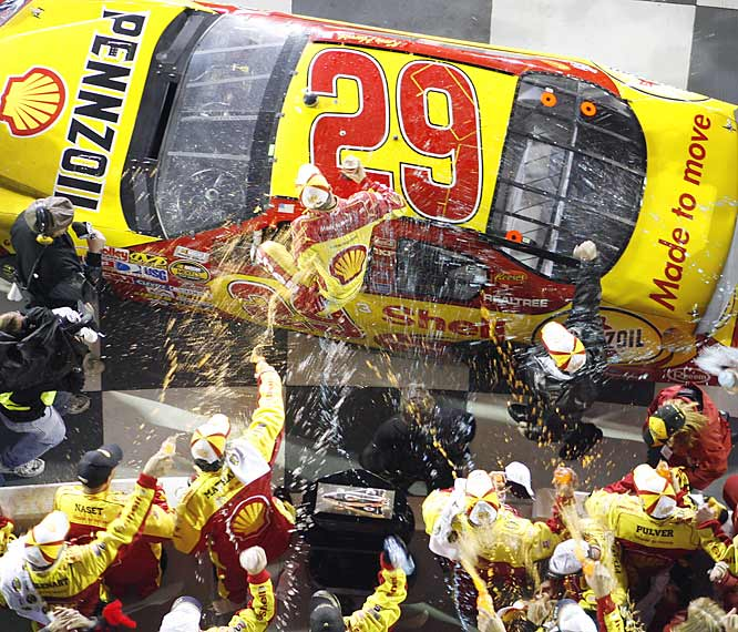 Kevin Harvick's victory came six years to the day of the death of Dale Earnhardt at the Daytona 500.