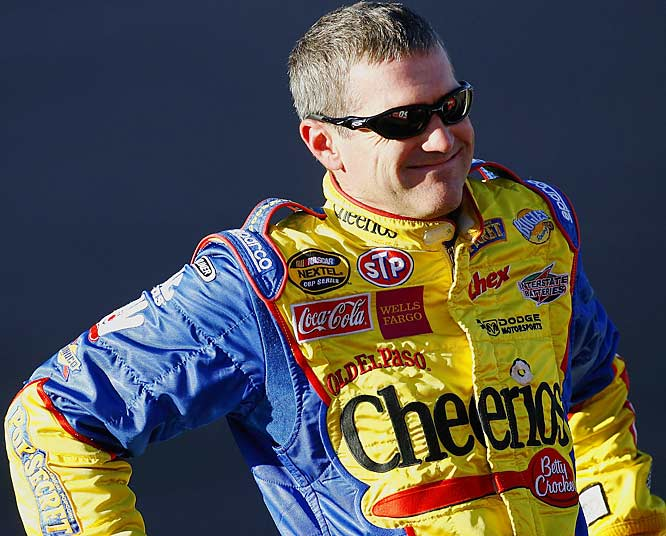 A former Cup champion, Labonte still is a great talent. He is smooth and consistent. If Petty Enterprises ever gets back on track, expect Labonte to challenge for another title.