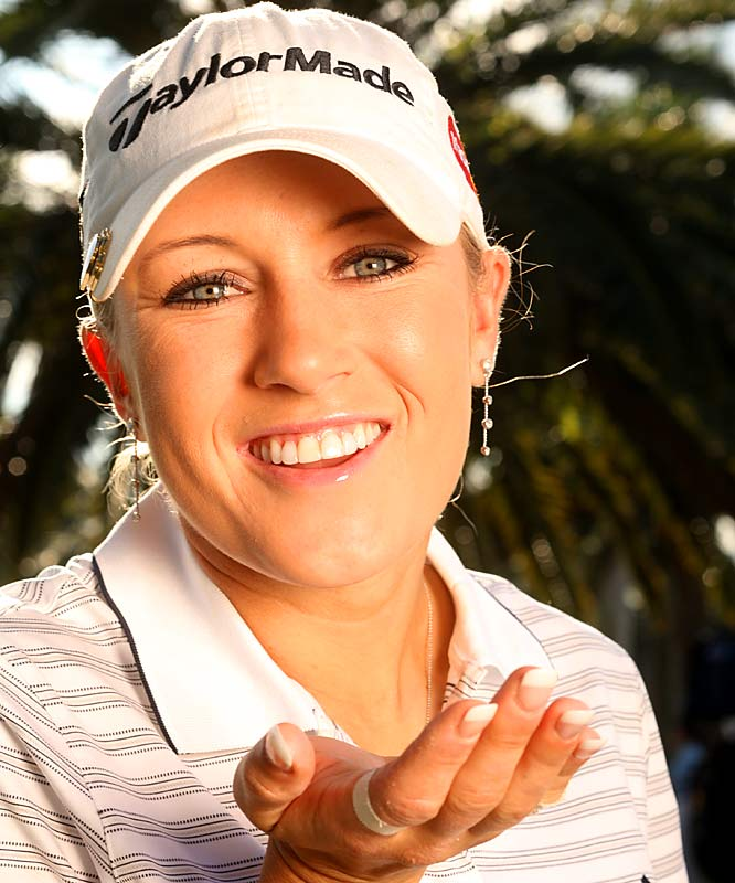 My pick is Dale Earnhardt, Jr. -- my favorite driver.  Dale Jr. said that his favorite track all season was Daytona. He has won there before, and a good way to start 2007 is with a win there! <br><br>- Natalie Gulbis, LPGA