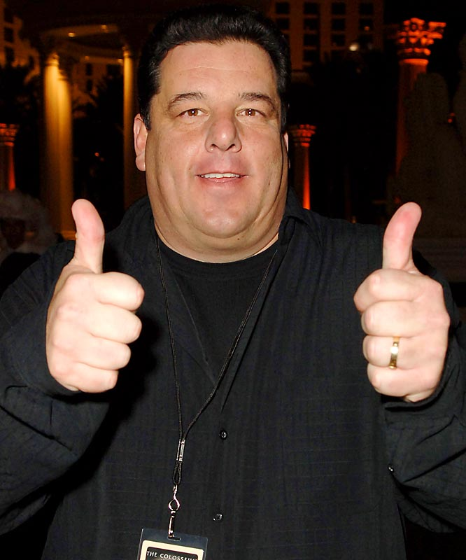 Clint Bowyer will win.  Those other guys, Dale and Jeff - they know what they gotta do if they think their kneecaps are helpful in their careers.<br><br>- Steve Schirripa, actor (Bobby Bacalla on The Sopranos)