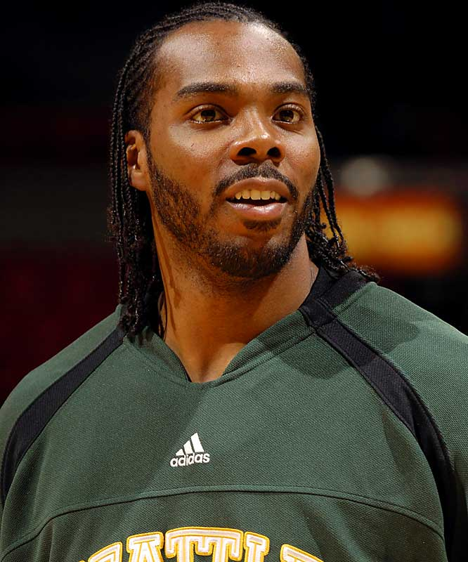 Jimmie Johnson is the man. <br><br>- Chris Wilcox <br>Forward, Seattle SuperSonics