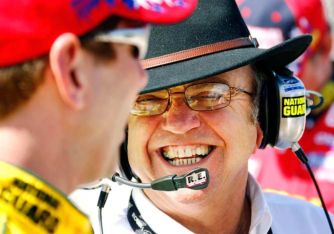 Roush claims that NASCAR penalties have cost him two Nextel Cup titles and one Craftsman Truck championship. The most celebrated of these infractions came in 1990, when Mark Martin finished 26 points behind Cup champion Dale Earnhardt. At Richmond that season, NASCAR penalized Martin $40,000 and 46 championship points because of a carburetor spacer.