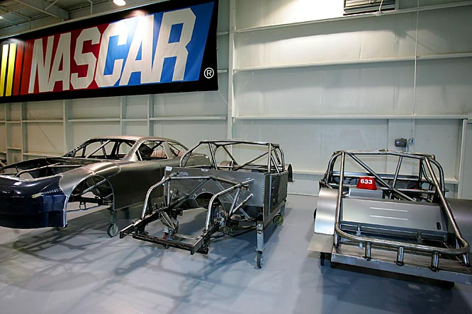 Wanting car owners to use a safer chassis at every track (short, road course, intermediate ovals or superspeedways) on the circuit, NASCAR developed the Car of Tomorrow that debuts at Bristol in March of this year. The mandatory chassis will be phased in during a three-year period.