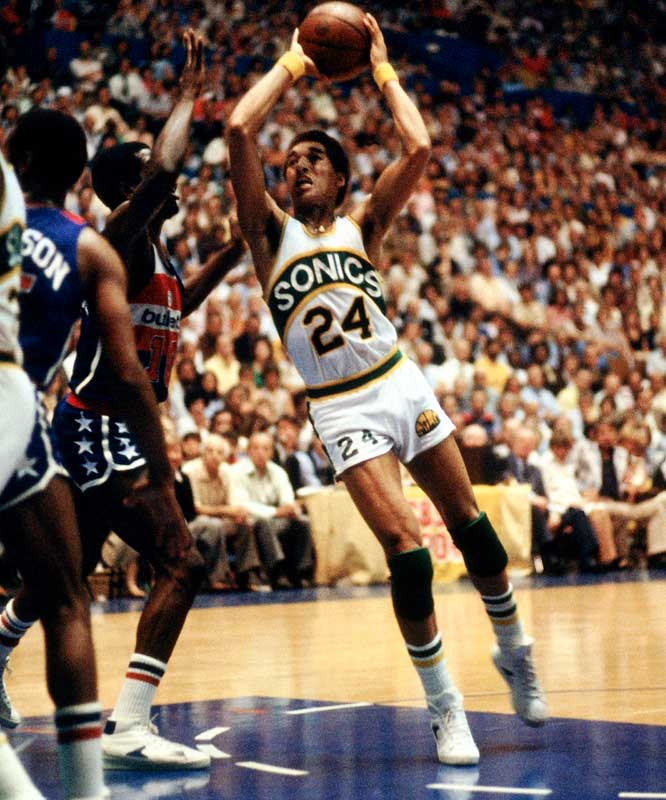 Dennis Johnson played 14 seasons in the NBA, including the first four with the Seattle SuperSonics, who selected the former Pepperdine standout with the 29th pick of the 1976 draft.